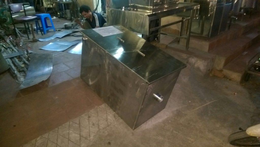 Bể tách mỡ công nghiệp tại thành phố Hà Nội