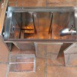 Bể tách mỡ nhà hàng Hải Phòng bằng inox theo thiết kế