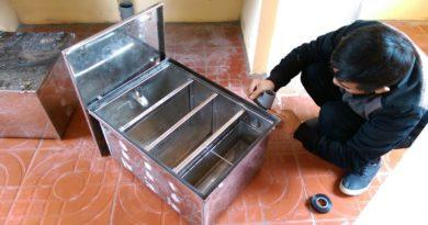 Lắp đặt bể tách mỡ ở Hội An