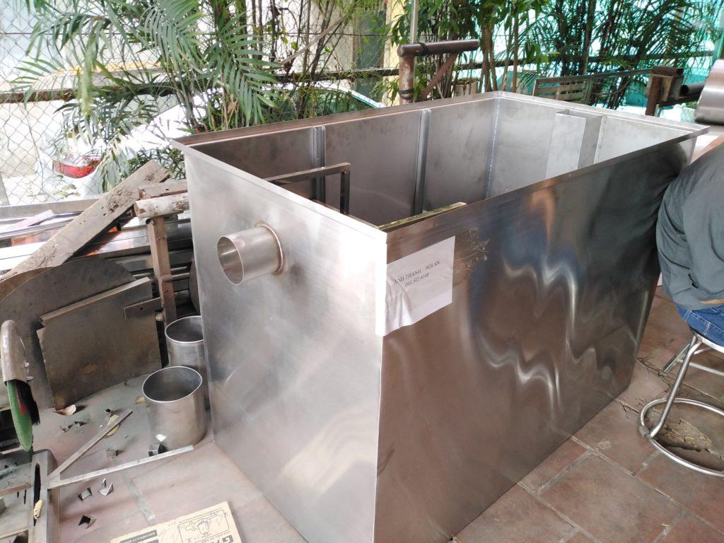 báo giá bể tách mỡ Vĩnh Phúc- bể công nghiệp