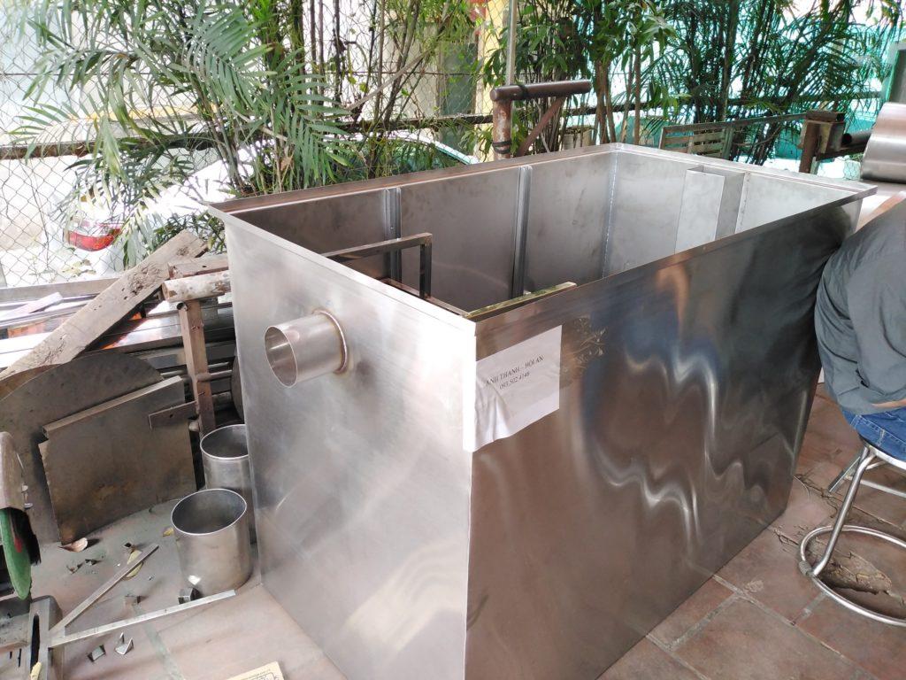 Bể tách mỡ công nghiệp Hải Dương