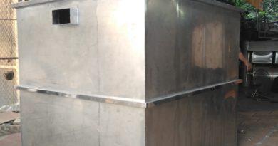 báo giá bể tách mỡ công nghiệp 3 mét khối
