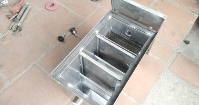 cấu tạo thùng lọc mỡ
