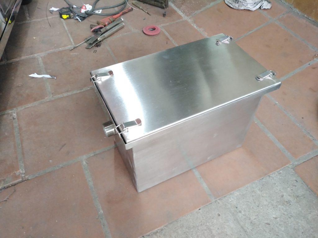 thùng lọc mỡ bếp nhà hàng bằng inox 304