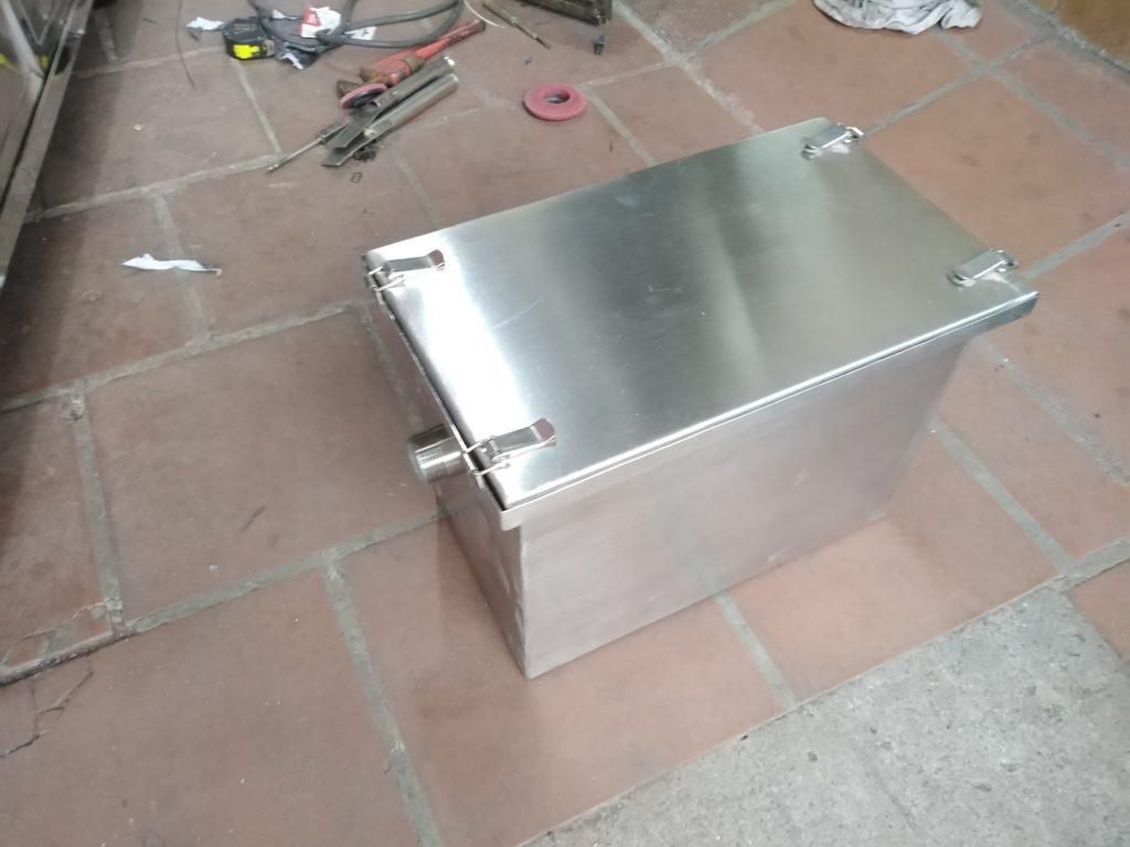 thùng lọc mỡ mini