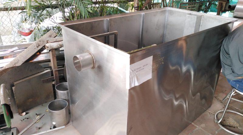 thùng lọc mỡ nhà hàng đà nẵng công suất lớn