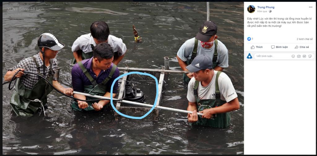 phần thiết bị bơm khí có bán tại Việt Nam