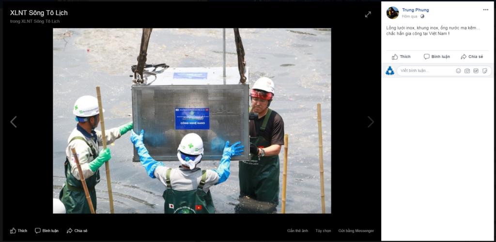 phần thiết bị gia công ở Việt Nam