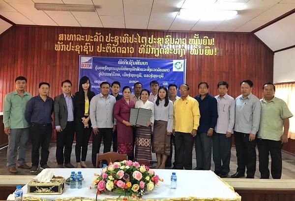 Chính phủ Lào đồng ý cho tổ chức save elephant thành lập khu bảo tổn voi
