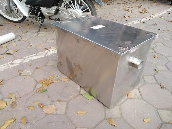 Sản phẩm bể tách mỡ 50 lít lắp đặt cho gia đình