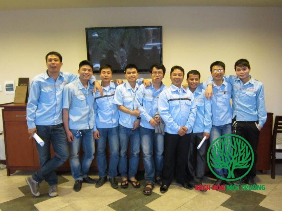 Đội ngữ cán bộ của inox Hùng Phát