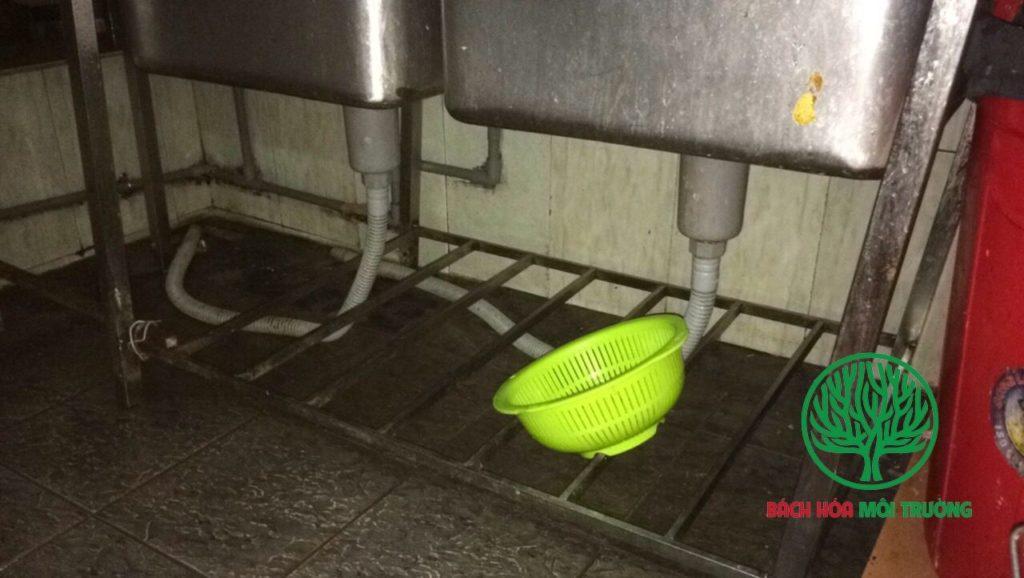 Dầu mỡ từ nhà hàng cần phải loại bỏ khỏi hệ thống thoát nước