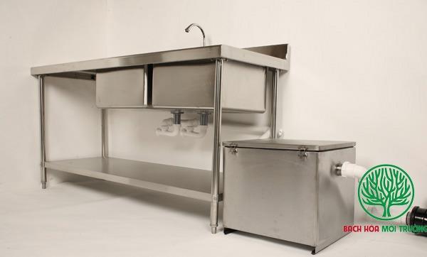 bẫy mỡ chiếm không gian khu bếp