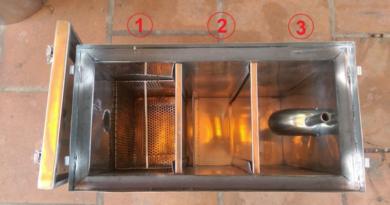 Bể tách mỡ là thiết bị cần thiết trong nhà bếp hiện đại