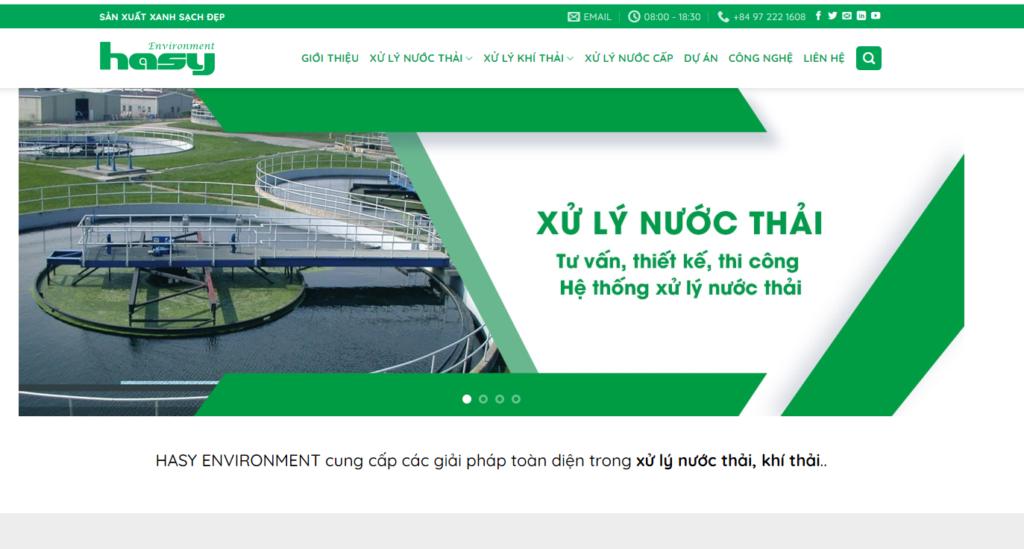 công ty Hasy chuyên xử lý nước thải công nghiệp