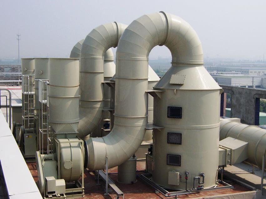 Công ty TNHH Công nghệ môi trường Hòa Bình Xanh xử lý khí thải