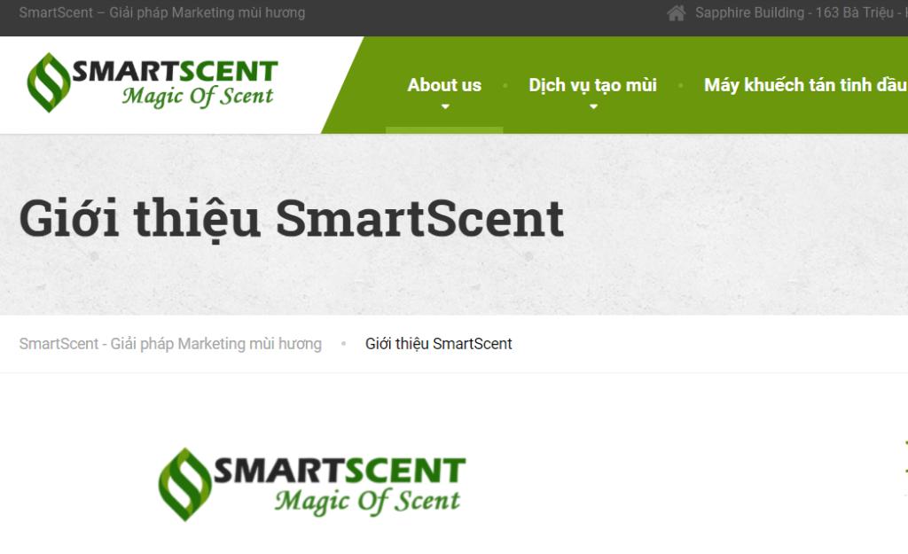SmartScent - bảo vệ sức khỏe của khách hàng là trên hết