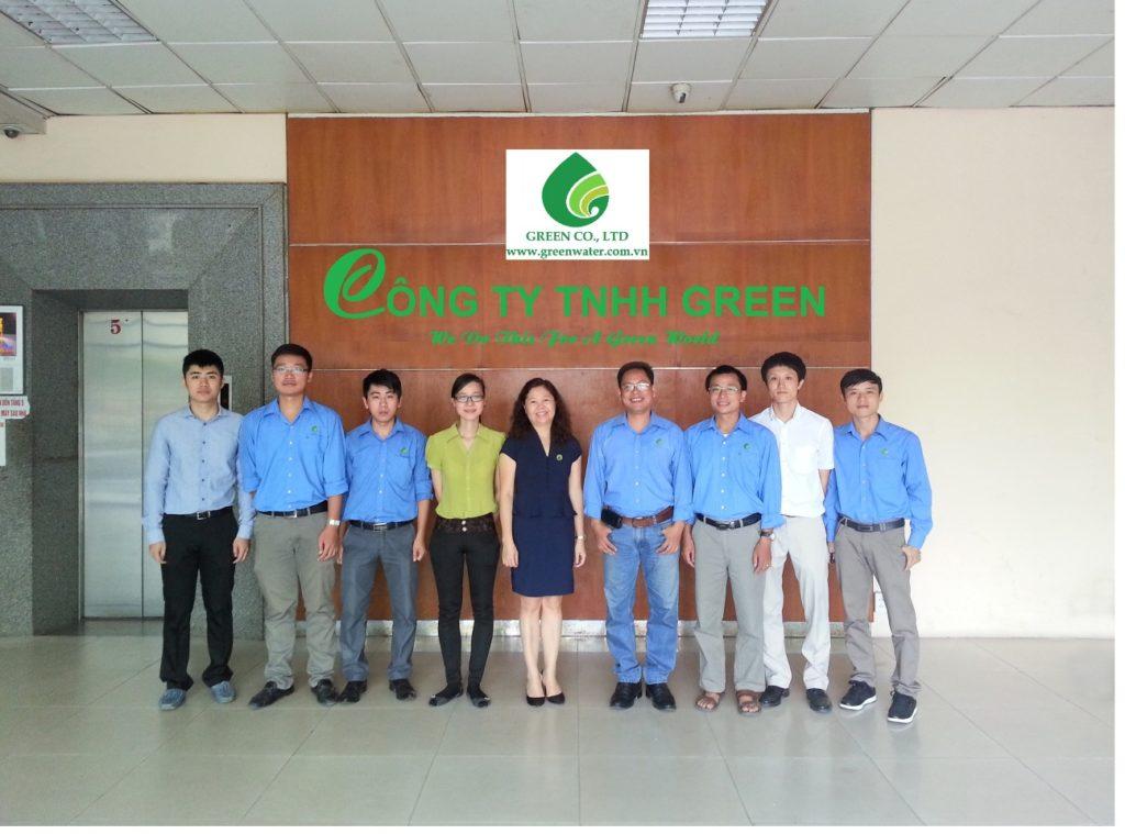 công ty TNHH Green chuyên xử lý nước thải công nghiệp