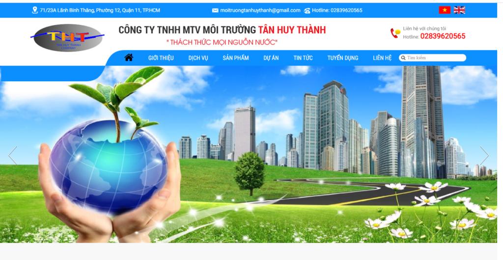 công ty - Tân Huy Thành Xử - lý nước thải công nghiệp