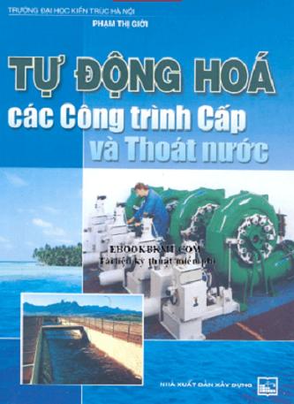 giáo trình tự động hóa các công trình cấp nước