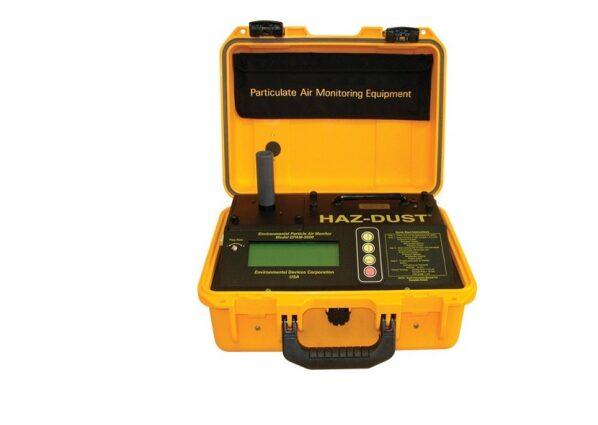 Máy đo bụi lơ lửng cũng được sử dụng phổ biến để đo không khí