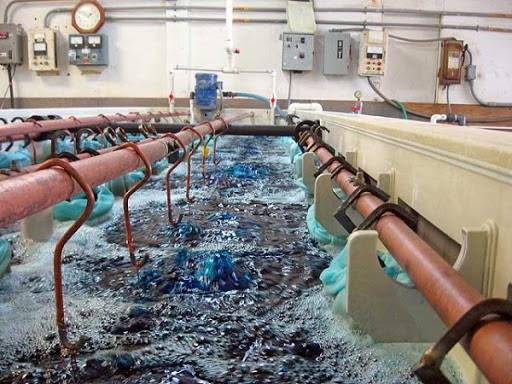 Nước thải ngành xi mạ chứa nhiều kim loại nặng khó xử lý
