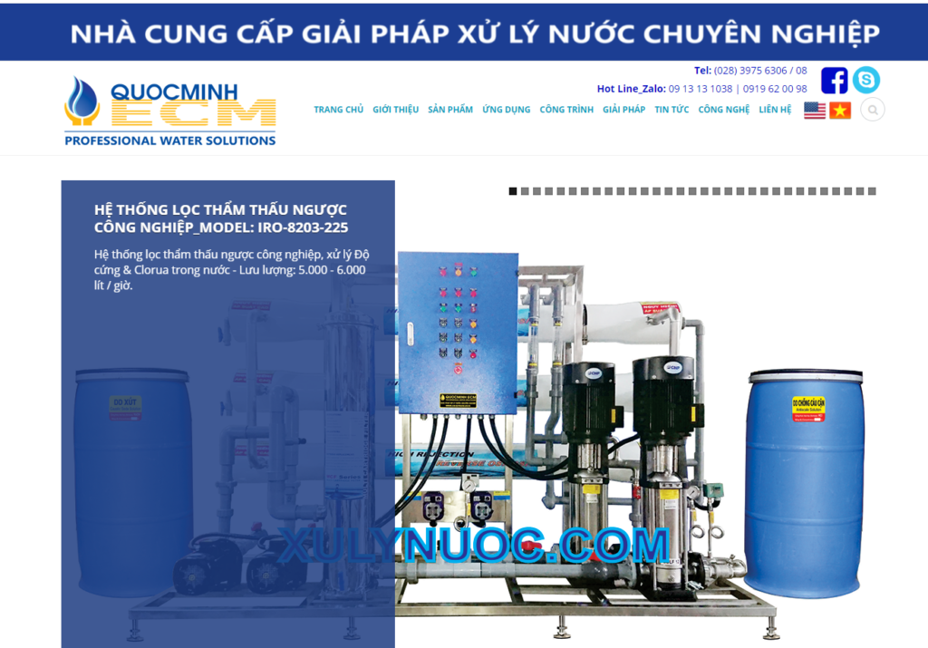 website cong ty quoc minh