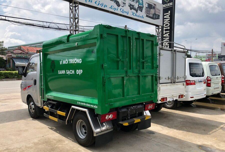 Mẫu Xe tải chở rác Jac X150 1.300kg