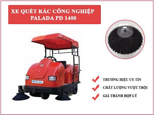 Xe quét rác công nghiệp Palada PD 1400