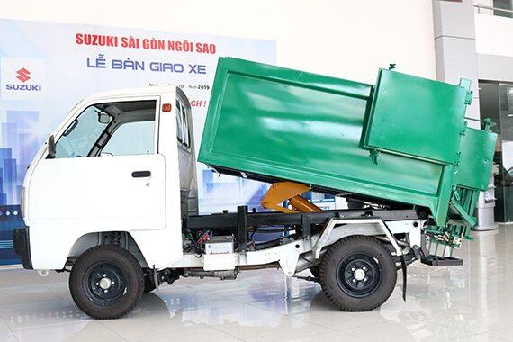 Xe tải chở rác Suzuki 400kg