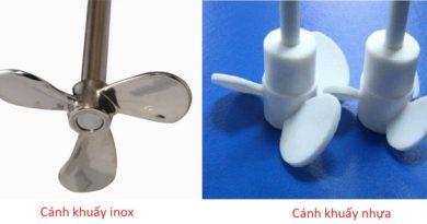 So sánh ưu nhược điểm của cánh khuấy nhựa và cánh khuấy inox