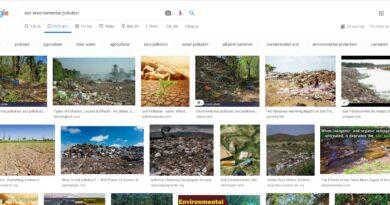 ô nhiễm môi trường đất bằng tiếng anh