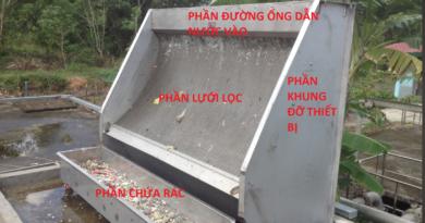 cấu tạo máy tách rác tĩnh
