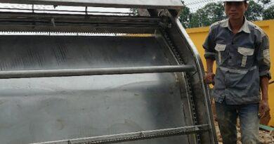 Thi công máy tách rác lược cào tại khu công nghiệp vsip hải phòng