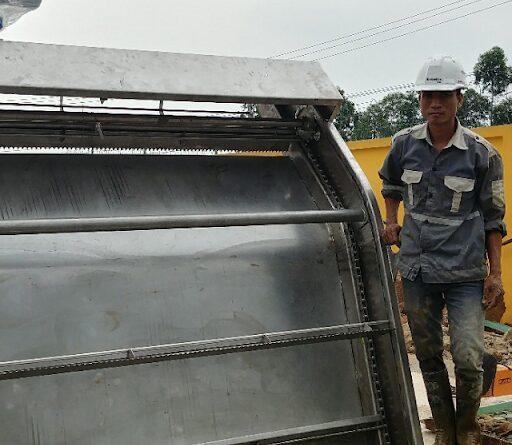 Lắp đặt máy tách rác tại Bắc Giang