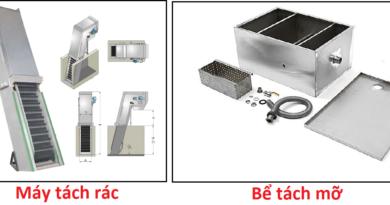 so sánh bể tách mỡ và máy tách rác
