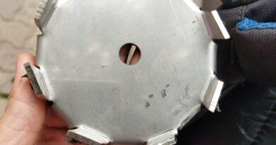 cánh khuấy đĩa cạnh vuông chuyên khuấy trộn dung dịch polymer