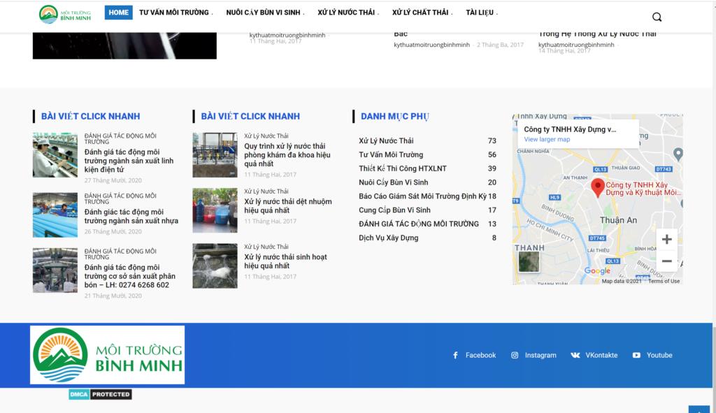 Công ty Bình Minh xử lý nước thải nhà hàng
