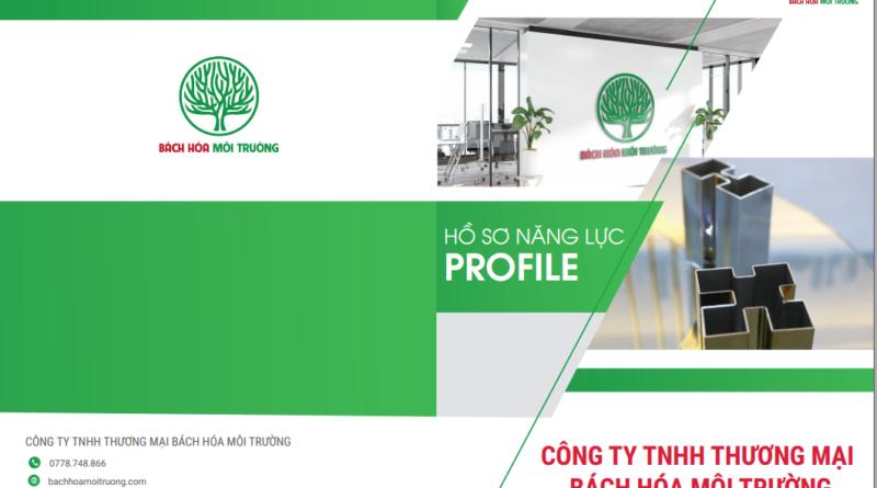 ảnh bìa catalog sản phẩm của công ty