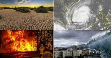 Một vài thảm họa thiên nhiên